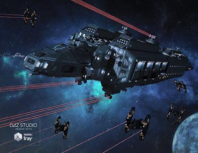 Spaceship Antares