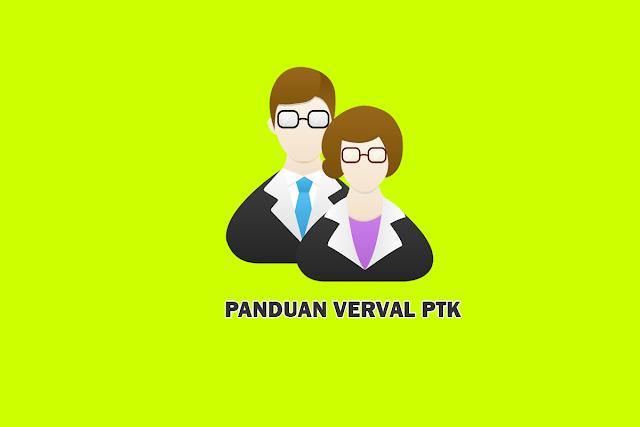 Panduan Aplikasi Verval PTK tahun 2018/2019