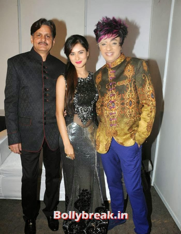 Prem Sharma, Pooja Banerjee, Rohit Verma, Rohit Verma's Fashion Show Pics