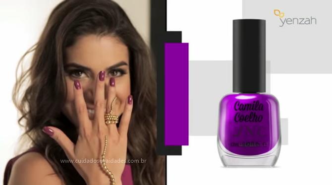 Camila Coelho purple dream