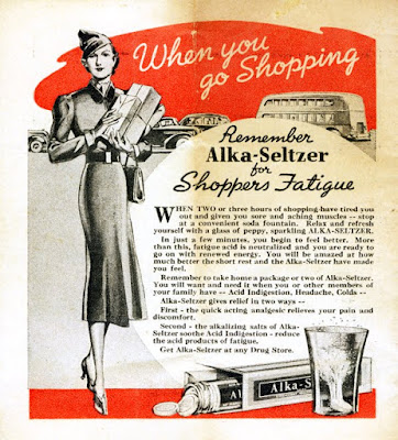 Remember Alka-Seltzer for Shoppers Fatigue