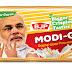 Funny Narendra Modi Parle-G Biscuit