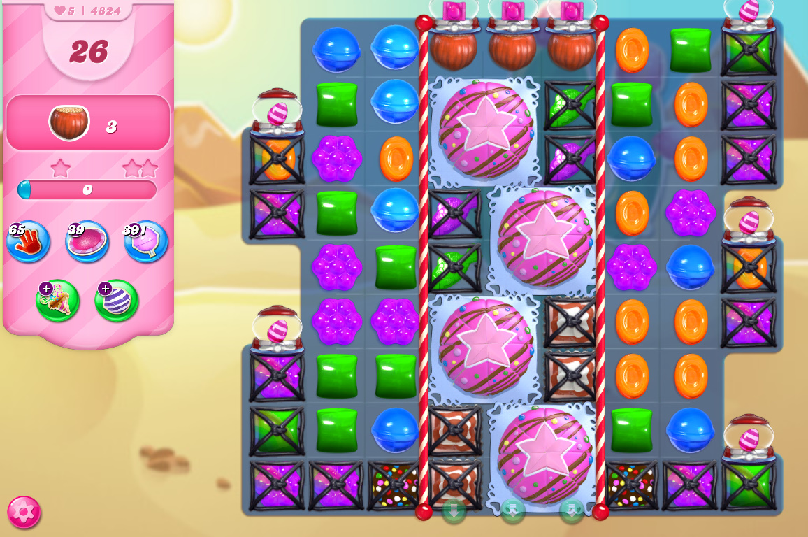Candy Crush Saga level 4824