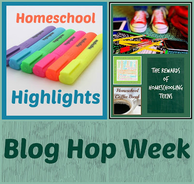 Homeschool Highlights - Blog Hop Week on Homeschool Coffee Break @ kympossibleblog.blogspot.com