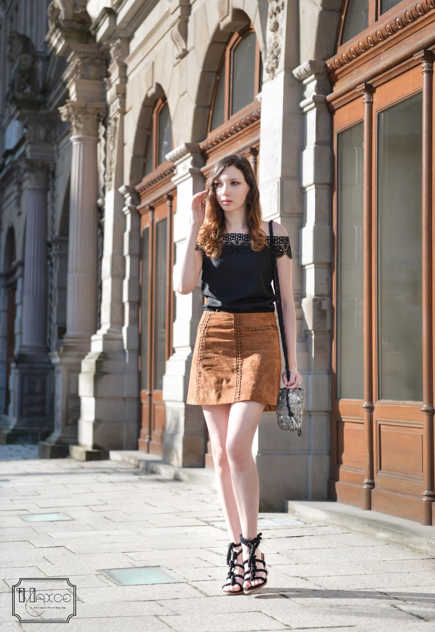 comment porter du brun et du noir ensemble