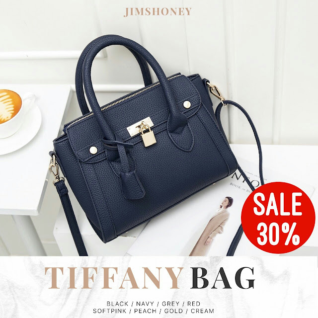 Jims Honey Tiffany Bag Navy