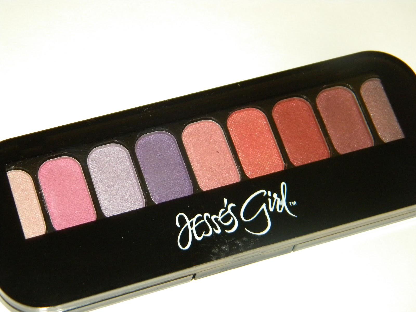 Aquaheart Jesse S Girl Cosmetics 9 Pan Eye Shadow Compacts