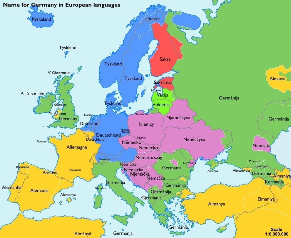 landkartenblog europakarte so nennt das ausland deutschland beim namen. Black Bedroom Furniture Sets. Home Design Ideas