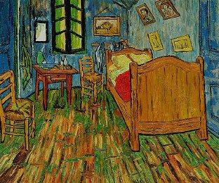 Vincent van Gogh Bedroom at Arles - ArtVentureZone