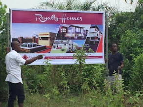 BE A LANDLORD IN LAGOS BY ACQUIRING PLOTS AND HECTARES OF LAND @ ROYALTY HOMES ESTATE IN LEKKI, AGB
