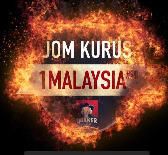 Peluang Keemasan Sertai Cabaran Jom Kurus 1 Malaysia