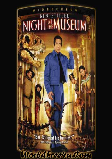 Poster Of Night at the Museum (2006) In Hindi English Dual Audio 300MB Compressed Small Size Pc Movie Free Download Only At worldfree4u.com