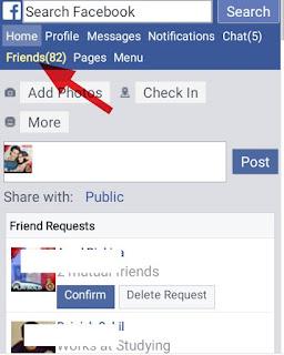 facebook par send kiya  friend request kaise chek kare