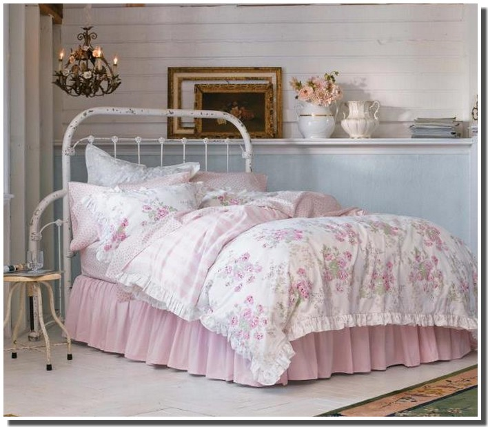 lit shabby best lit with lit shabby interesting rideau couvre lit lin naturel lin beige shabby. Black Bedroom Furniture Sets. Home Design Ideas