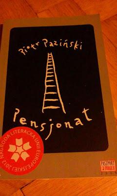 """To, co czytam: Zapomniany """"Pensjonat"""" - Piotr Paziński (1/2017)"""