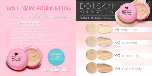 SendayuTinggi Doll Skin Foundation