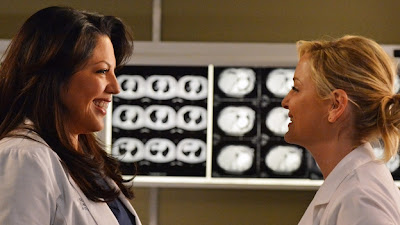 Grey's Anatomy S09E18. Idle Hands