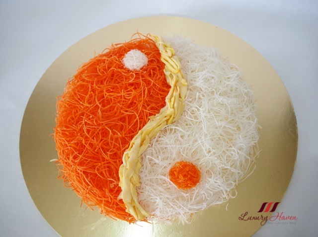 how to make yusheng food art
