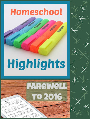Homeschool Highlights - Farewell to 2016 on Homeschool Coffee Break @ kympossibleblog.blogspot.com - Join me to share highlights from your homeschool week!