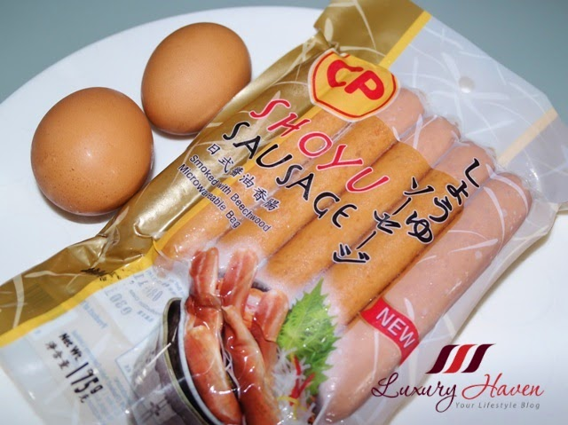 cp japanese shoyo sausage recipe idea