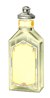 beauty image perfume antique illustration digital download