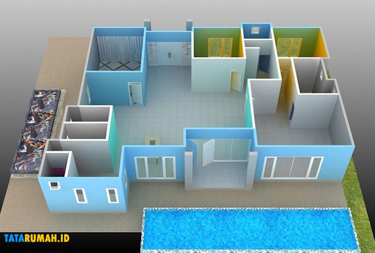 gambar desain layout rumah
