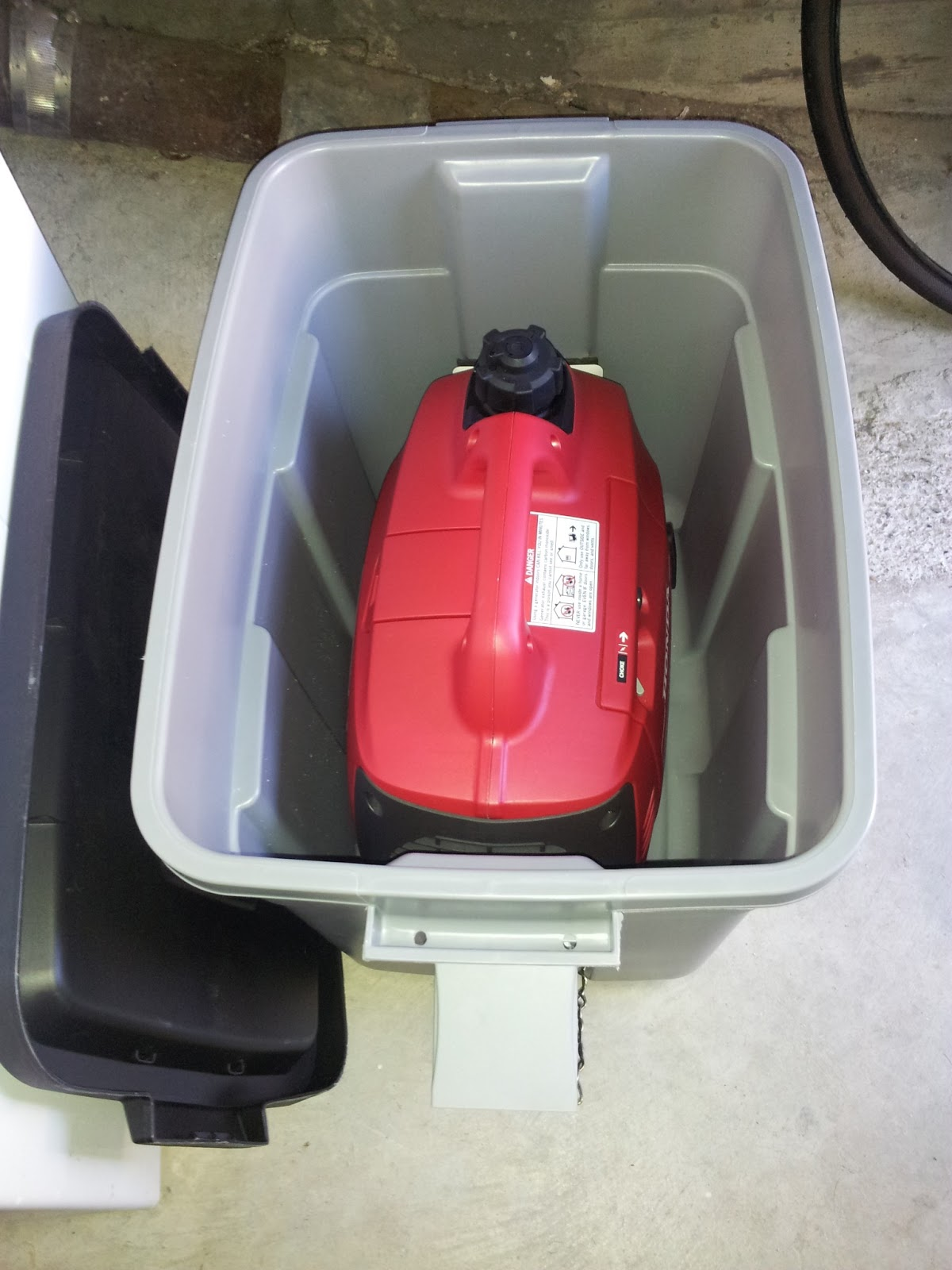 Elise Box To Protect The Honda Generator In Rougher Weather
