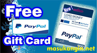 Get Free PayPal Gift Card 2018
