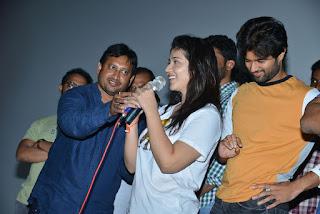Taxiwala Movie Team at Arjun Theatre Kukatpally Photos