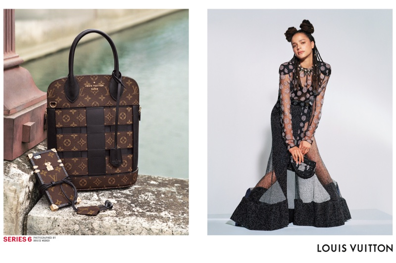 Sasha Lane stars in Louis Vuitton's spring-summer 2017 campaign