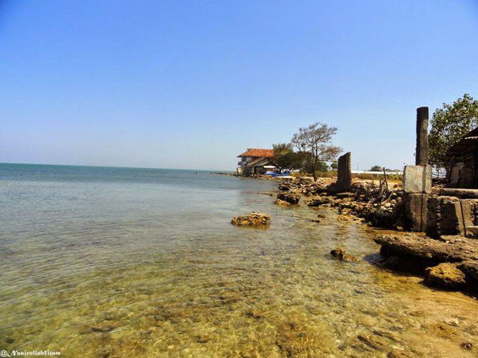 Panorama pantai Ombak Mati Bondo, Jepara