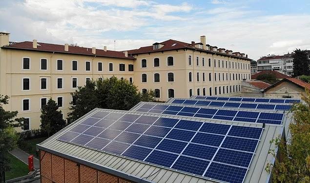 Saint-Joseph Lisesi Kendi Elektriğini Üretiyor