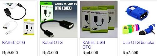 Harga Kabel USB OTG