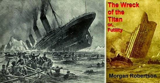 Pasmem: Ele escreveu a história do Titanic...14 anos antes dele existir!