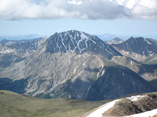La Plata Peak in Colorado's Sawatch Range