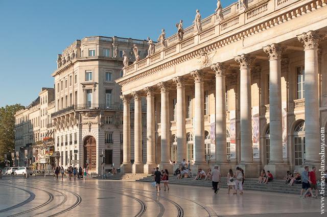 Que ver en Burdeos Teatro Victor Louise Bordeaux Francia
