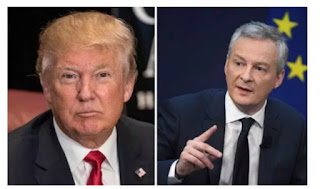 French minister Le Maire says Europe won't allow US to control world trade