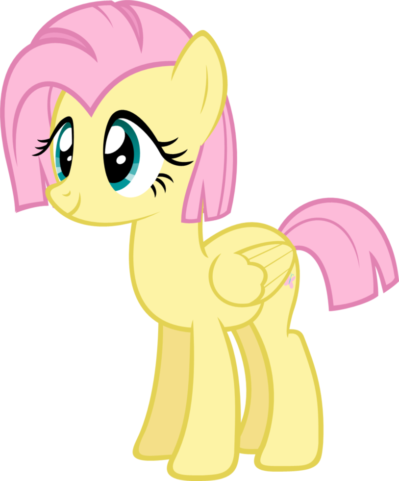 Equestria Daily - MLP Stuff!: Fluttershy with a Short Mane