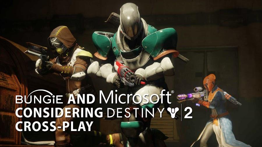 destiny 2 crossplay bungie microsoft