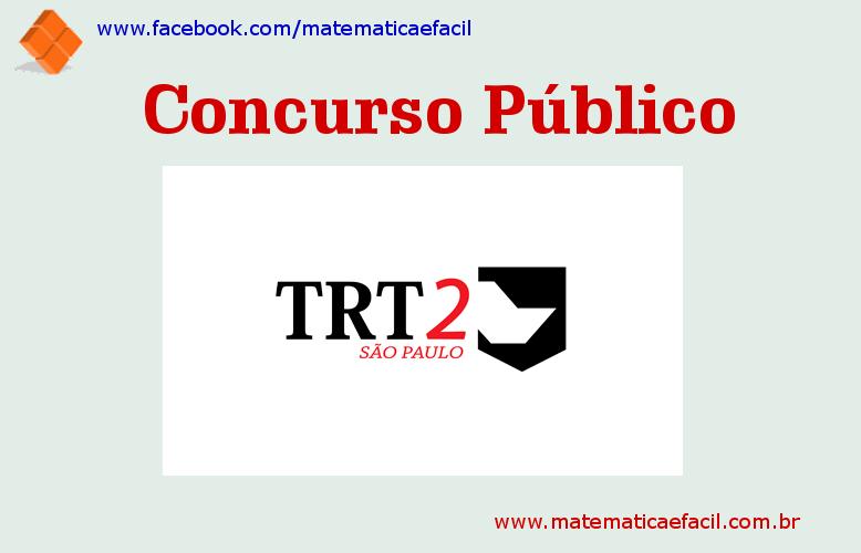 Concurso Público para o TRT – 2ª Região