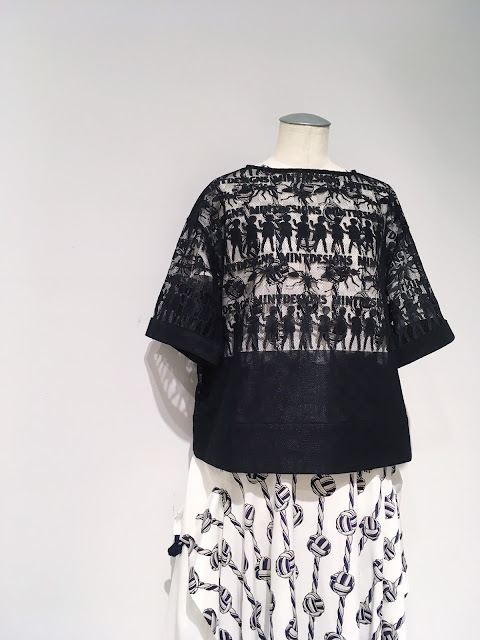 mintdesigns【ミントデザインズ】MESH OP T-SHIRT ◆エイティエイト eighty88eight 綾川・新居浜