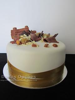 bolo aniversário castanha