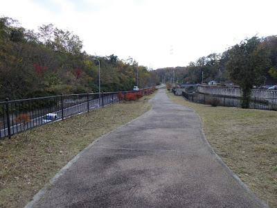天野川トンネル周辺ウォーキング