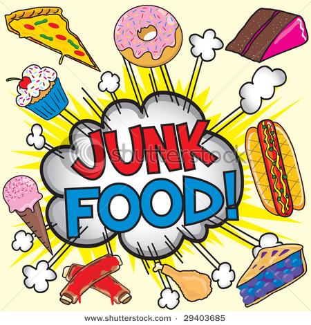I Cannot Stop Eating Junk Food