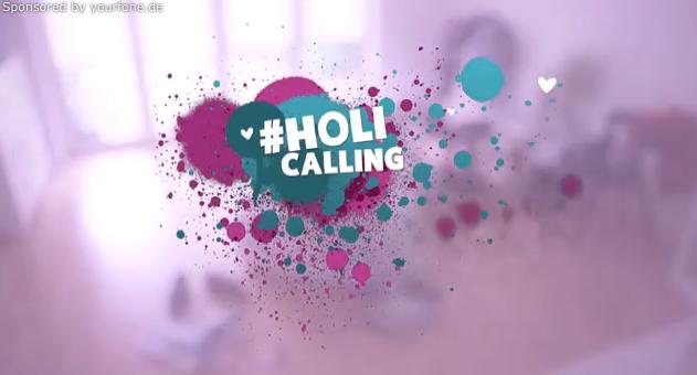 Holi Fest mit yourfone.de #holicalling
