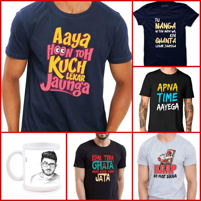Quotes T-shirts for man