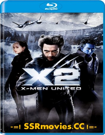 X-Men 2 (2003) Dual Audio Hindi 720p BluRay Full Movie Download