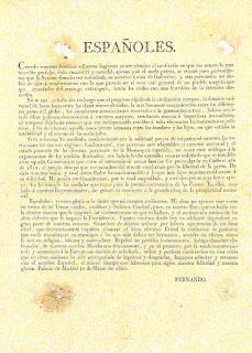 Manifiesto Fernando VII