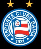 Escudo do Esporte Clube Bahia #PraCegoVer