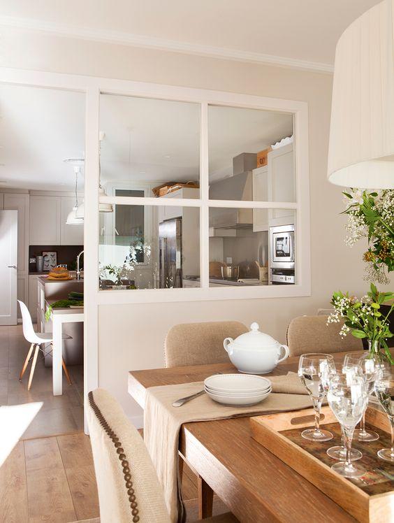 5 ideas para separar el sal n de la cocina cocochicdeco for Separacion cocina salon